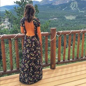 Oh My Love! Backless Dress